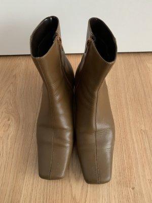 unbekannte Stivale a gamba corta marrone chiaro