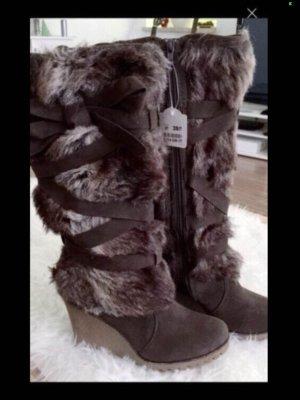 Deichmann Bottes d'hiver brun