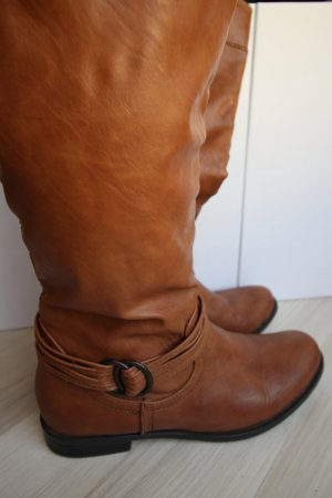 Stiefel (cognac) - Anna Field - Größe 39