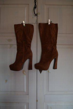Stiefel cognacfarben