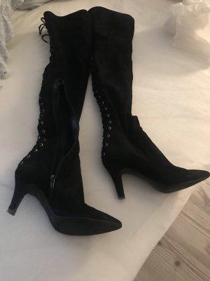 Botas elásticas negro