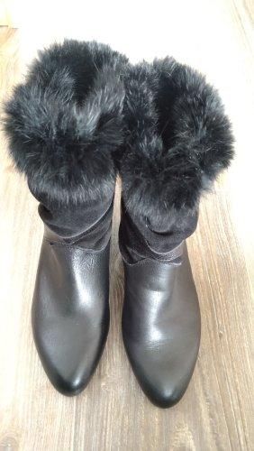 keine Heel Boots black