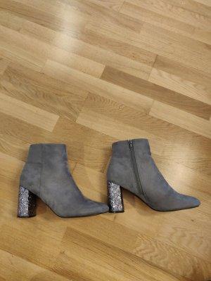 Bestelle Heel Boots purple-grey violet