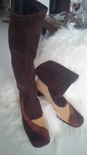 Baldan Heel Boots multicolored