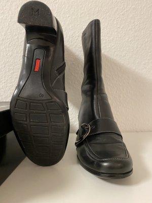 MARC Cothurne noir cuir
