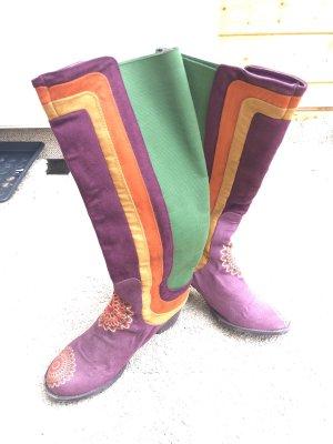 Desigual Stivale elasticizzato multicolore