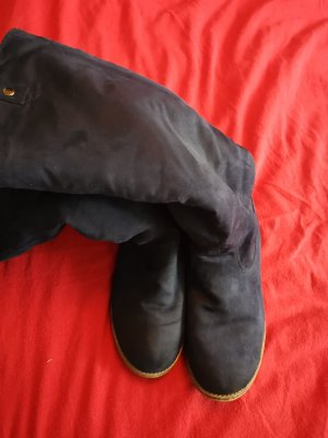 Stiefel dunkelblau