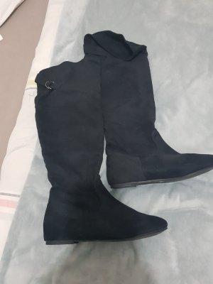 Mode Queen Slip-on Booties black