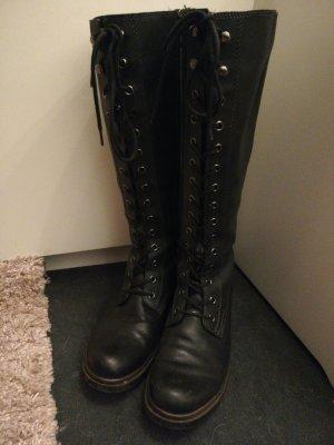Tamaris Aanrijg laarzen zwart