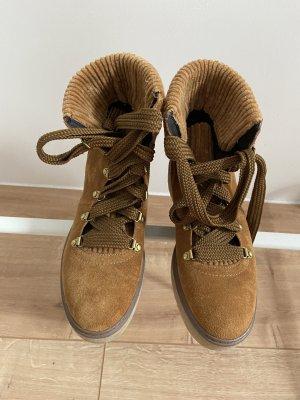 Esprit Lace-up Boots camel-beige