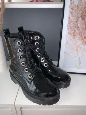 Catwalk Lace-up Boots black