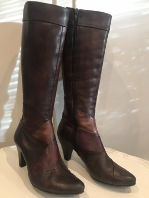 5 th Avenue Jackboots black brown-brown