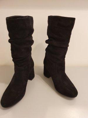 Fiore di Lucia Milano Korte laarzen zwart Leer