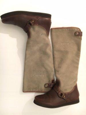 Stiefel Gaastra aus Leder und Velours