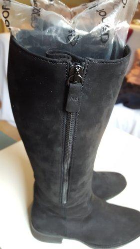 Gabor Bottes à tige large noir