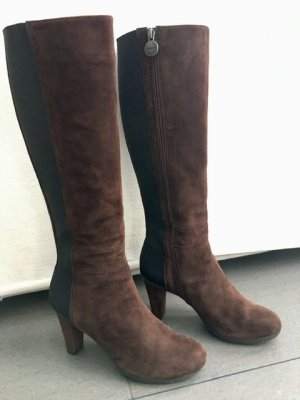 Geox Heel Boots brown leather