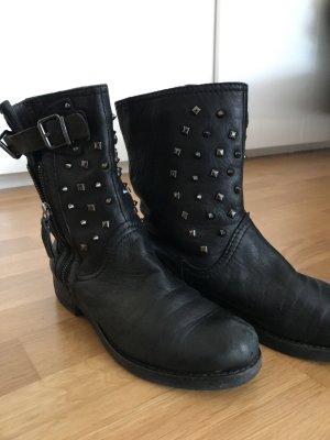Geox Halfhoge laarzen zwart