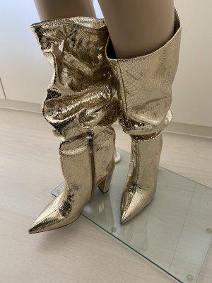 Korte laarzen goud