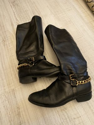 Aldo Riding Boots black leather