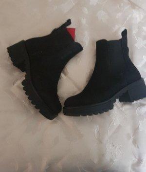 Reno Wciągane buty za kostkę czarny