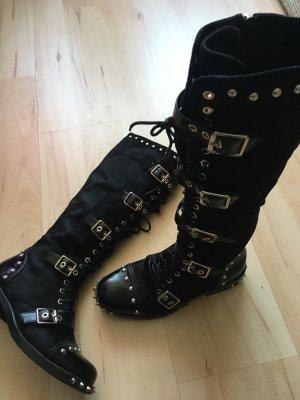 Stiefel Gr 38 Punk Gothic Rock