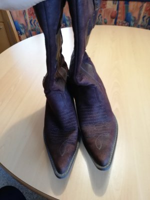 Western Laarzen bruin-donkerbruin