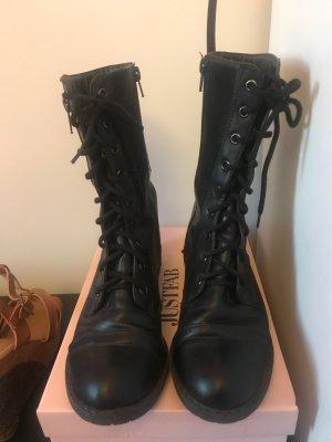 Arizona Aanrijg laarzen zwart