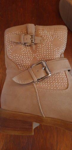 Stiefel halbhoch - Boots - Beige