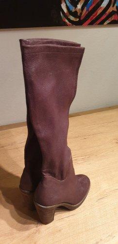 Plateauzool Laarzen zwart bruin