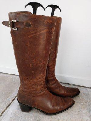 Ralph Harrison Western Boots brown