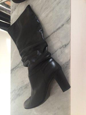 Varese Botas de tacón alto marrón oscuro-negro