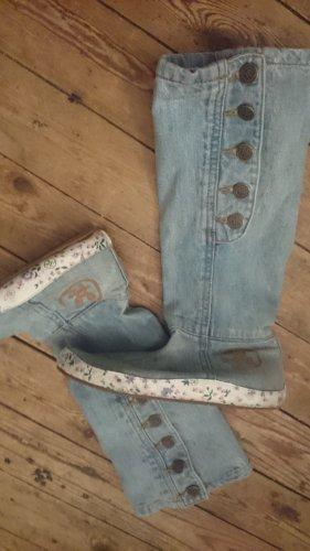 stiefel in jeans der marke RATON   ITALIEN !!