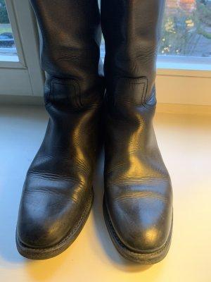 Church's Wide Calf Boots black-dark brown