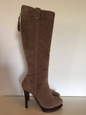 Stiefel in Taupe