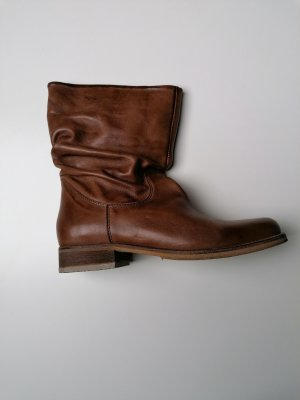 Sommerkind Stivale a gamba corta marrone chiaro-beige Pelle