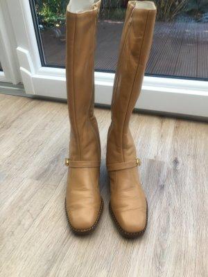 Laarzen met bont beige