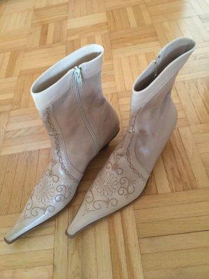 Stiefel Leder Größe 38