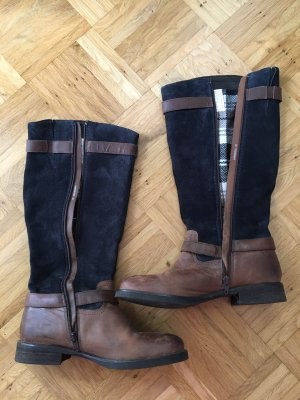 Tom Tailor Winter Boots brown-blue