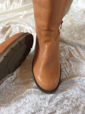 Salamander Fur Boots camel-light brown