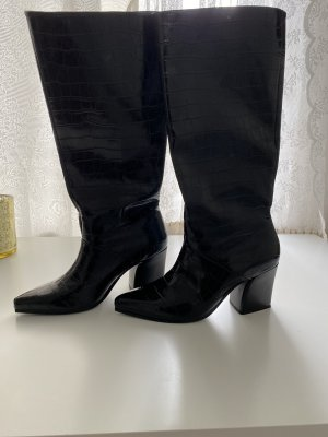 Mango High Heel Boots black