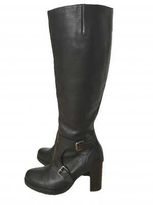Campus by Marc O'Polo High Boots black-silver-colored