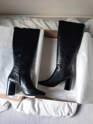 LeGer by Lena Gercke Wedge Booties black leather
