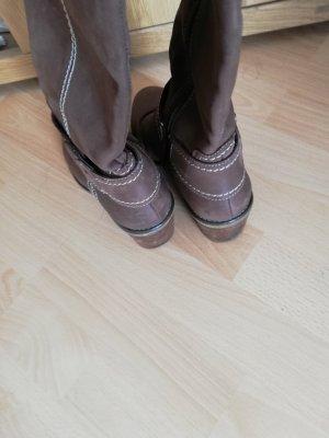 5th Avenue Heel Boots light brown