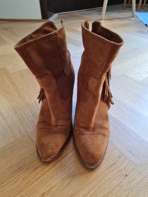 Mango Boots western brun