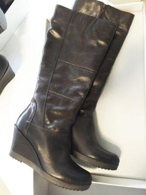 Stiefel mit Keilabsatz, Madeleine NEU