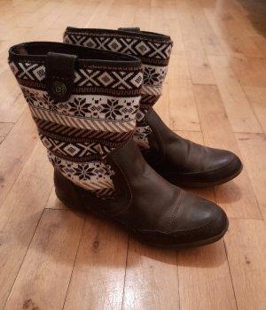 Stiefel mit Muster