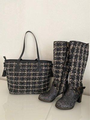 Stiefel mit passender Tasche