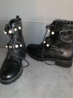 Deichmann Aanrijg laarzen zwart