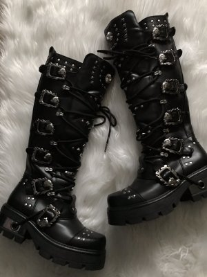 bella star Gothic laarzen veelkleurig