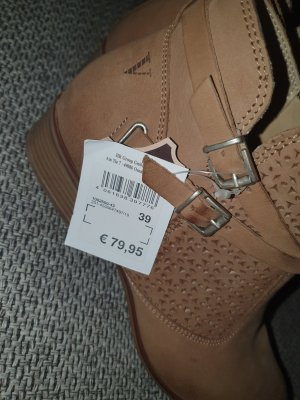 CCC Botines slouch color bronce
